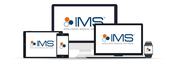 IMS on shown multiple different screens from iPad, tablet, watch, phone and desktop