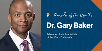 Dr. Gary Baker Provider of the Month