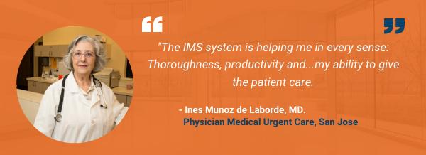 Urgent Care Testimonial