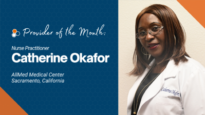 Okafor Provider of the Month Featured Image