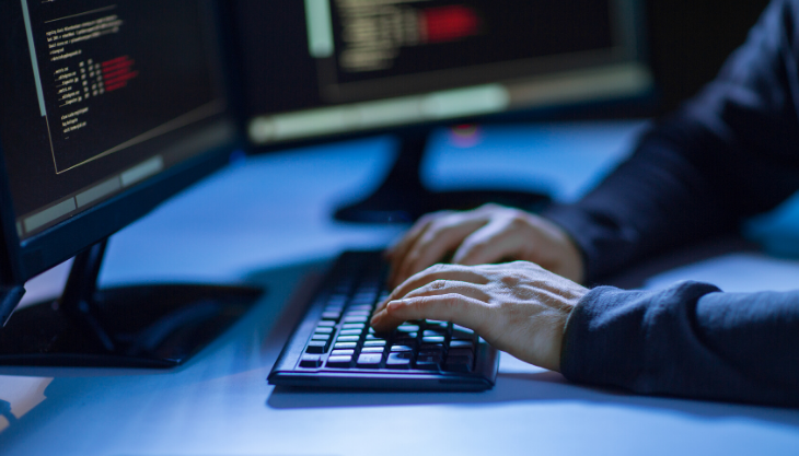 Cybercriminal attacking healthcare technology