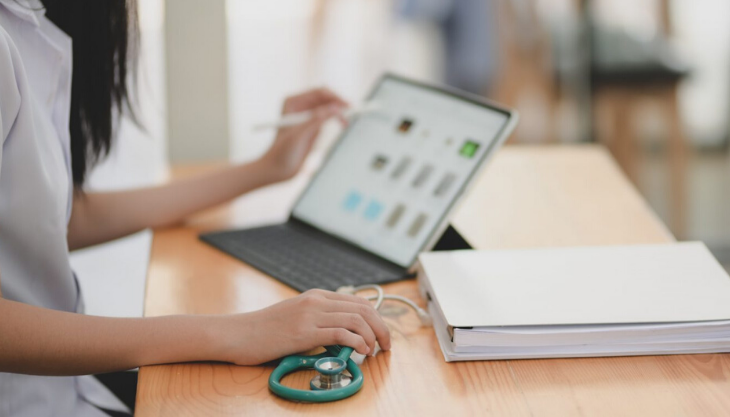 Medical practices working remotely