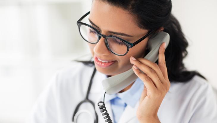 Telephone Telehealth Medical Visit