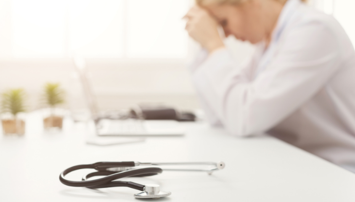 A doctor grappling with the major changes in the medical industry