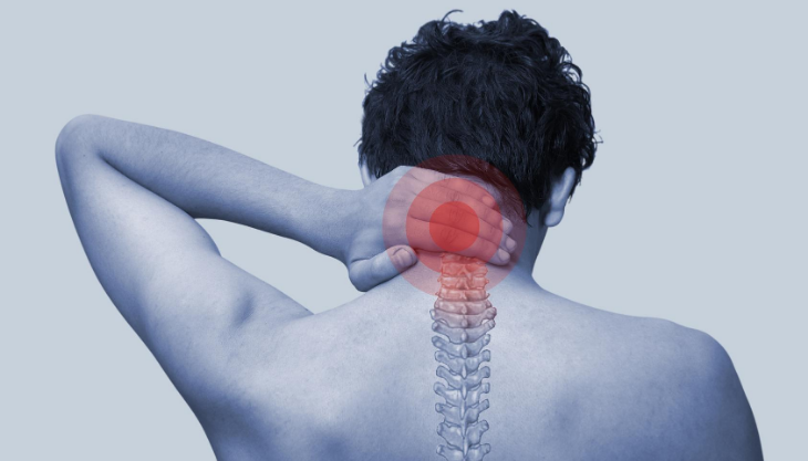 A Man with Chronic Neck Pain