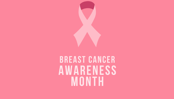 Breast Cancer Awareness Month October 2020 Ribbon