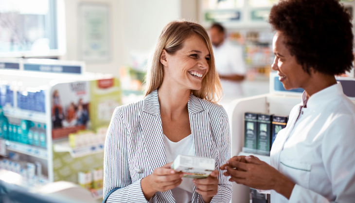 Satisfied Patient Receiving Medication Because of Electronic Prior Authorization