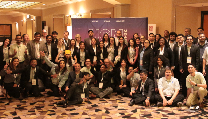 Attendees of Meditab's UGM conference for healthcare practices